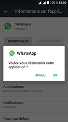 Alcatel U5 - Applications - Supprimer une application - Étape 7