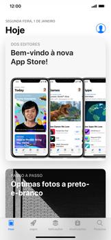 Apple iPhone XS Max - Aplicações - Como pesquisar e instalar aplicações -  4