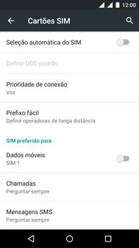 Motorola Moto X Play - Rede móvel - Como ativar e desativar uma rede de dados - Etapa 8