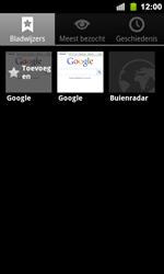 Google Nexus S - Internet - Hoe te internetten - Stap 9