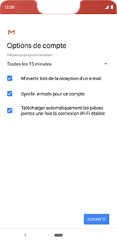 Google Pixel 3XL - E-mail - 032c. Email wizard - Outlook - Étape 10