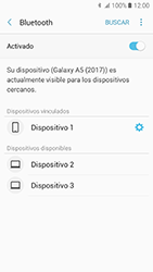 Samsung Galaxy A5 (2017) (A520) - Bluetooth - Conectar dispositivos a través de Bluetooth - Paso 9
