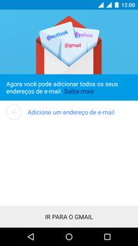 Motorola Moto X Play - Email - Como configurar seu celular para receber e enviar e-mails - Etapa 7