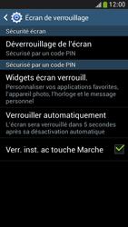 Samsung Galaxy S4 Mini - Sécuriser votre mobile - Activer le code de verrouillage - Étape 12