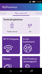 HTC Desire 320 - Applicaties - MyProximus - Stap 18