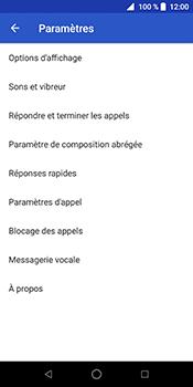 ZTE Blade V9 - Messagerie vocale - Configuration manuelle - Étape 6