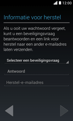 Huawei Ascend Y330 - Applicaties - Account aanmaken - Stap 12