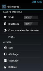Acer Liquid Glow E330 - Internet - Configuration manuelle - Étape 4