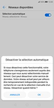 Huawei P Smart - Réseau - Sélection manuelle du réseau - Étape 8
