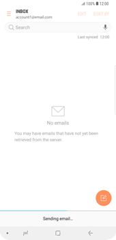 Samsung Galaxy S9 Plus - E-mail - Sending emails - Step 19