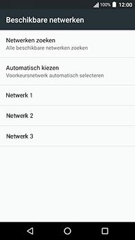 Acer Liquid Zest 4G Plus - Netwerk - Handmatig een netwerk selecteren - Stap 8