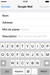 Apple iPhone 4 - E-mails - Ajouter ou modifier votre compte Gmail - Étape 7