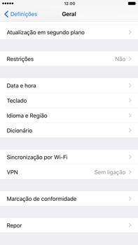 Apple iPhone 7 Plus - Repor definições - Como repor definições de fábrica do telemóvel -  5