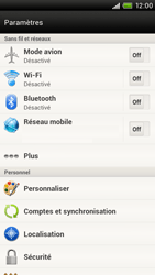 HTC S720e One X - Internet - Configuration manuelle - Étape 4