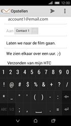 HTC Desire 320 - E-mail - E-mails verzenden - Stap 11