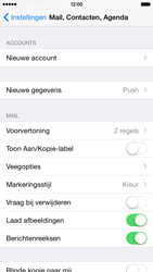 Apple iPhone 6 - E-mail - Handmatig instellen - Stap 5