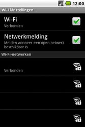 LG GW620 - Wifi - handmatig instellen - Stap 9
