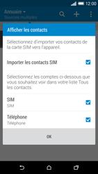 HTC One (M8) - Contact, Appels, SMS/MMS - Ajouter un contact - Étape 4
