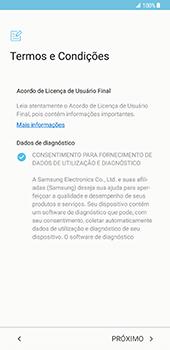 Samsung Galaxy S8 Plus - Primeiros passos - Como ligar o telemóvel pela primeira vez -  6