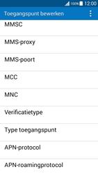 Samsung G530FZ Galaxy Grand Prime - MMS - handmatig instellen - Stap 13