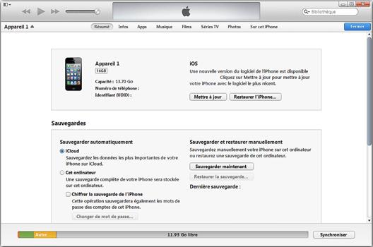 Apple iPhone 8 - Premiers pas - Synchroniser avec votre ordinateur - Étape 5