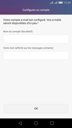 Huawei Honor 5X - E-mail - Configuration manuelle (outlook) - Étape 9