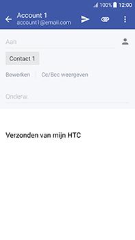 HTC U11 - E-mail - Bericht met attachment versturen - Stap 8
