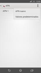 Sony Xperia E4g - Internet - Configurar Internet - Paso 9