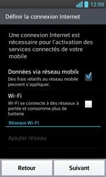 LG Optimus L5 II - Premiers pas - Créer un compte - Étape 3