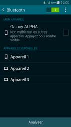 Samsung G850F Galaxy Alpha - Bluetooth - connexion Bluetooth - Étape 8