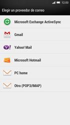 HTC One M8 - E-mail - Configurar Outlook.com - Paso 4