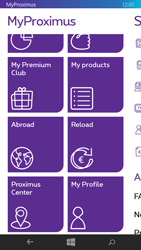 Nokia Lumia 735 - Applications - MyProximus - Step 21