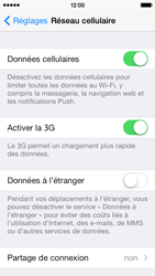 Apple iPhone 5c - Internet - Activer ou désactiver - Étape 4