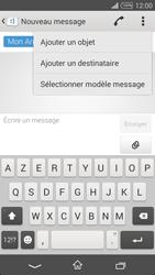 Sony Xpéria T3 - Contact, Appels, SMS/MMS - Envoyer un MMS - Étape 8