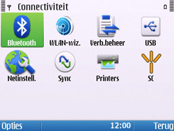 Nokia E5-00 - Bluetooth - headset, carkit verbinding - Stap 5