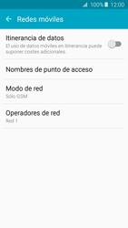 Samsung Galaxy A5 (2016) - Red - Seleccionar el tipo de red - Paso 7