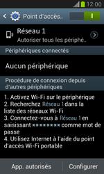 Samsung Galaxy S3 Mini - Internet et connexion - Partager votre connexion en Wi-Fi - Étape 12