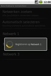 Samsung I7500 Galaxy - Netwerk - gebruik in het buitenland - Stap 11