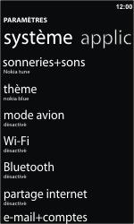 Nokia Lumia 610 - Wifi - configuration manuelle - Étape 3