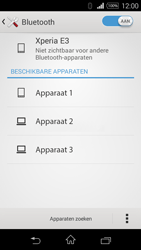 Sony D2203 Xperia E3 - Bluetooth - Koppelen met ander apparaat - Stap 6