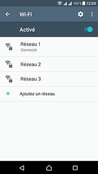 Sony Xperia L1 - Internet et connexion - Accéder au réseau Wi-Fi - Étape 8