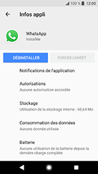 Sony Xperia XA2 - Applications - Supprimer une application - Étape 7