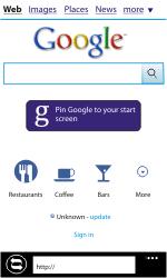 Samsung I8350 Omnia W - Internet - Internet browsing - Step 4