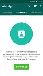 Samsung Galaxy S7 - Aplicações - Como configurar o WhatsApp -  18