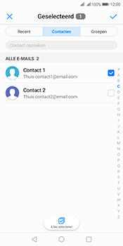 Huawei Mate 10 Pro Dual-SIM (Model BLA-L29) - E-mail - Bericht met attachment versturen - Stap 6