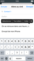 Apple iPhone SE - E-mails - Envoyer un e-mail - Étape 9