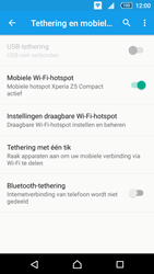 Sony Xperia Z5 Compact (E5823) - WiFi - Mobiele hotspot instellen - Stap 12