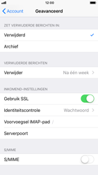 Apple iPhone 6s - iOS 12 - E-mail - Account instellen (IMAP met SMTP-verificatie) - Stap 24