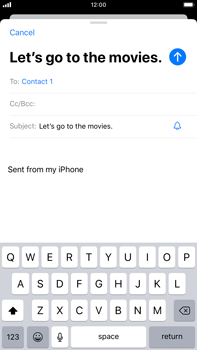 Apple iPhone 8 Plus - iOS 13 - Email - Sending an email message - Step 7