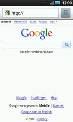 Samsung I5800 Galaxy Apollo - Internet - Internet browsing - Step 4